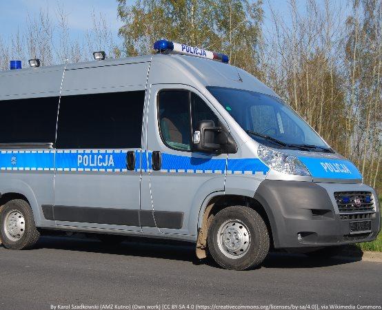 Policja Białystok: ODDALI KREW POD KOMENDĄ