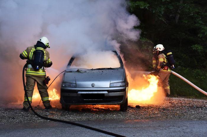 KWPSP Białystok:  W miejscowości Stabieńszczyzna, zderzenie trzech samochodów.