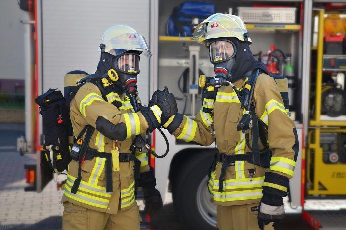 KWPSP Białystok:  Pożar mieszkania w Szczuczynie